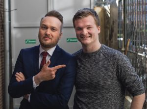 'Arjen Lubach is a very nice person.'