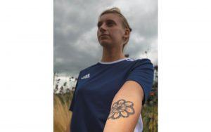 Tattoo: 'Veel sterker in mijn schoenen'