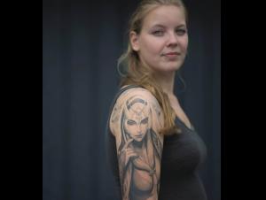 Tattoo: 'Echt bad ass'