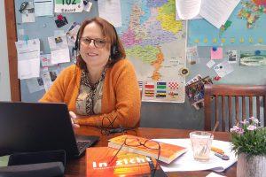 Marjolein Rietveld: goodie-bag voor vluchtelingstudent